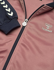 Hummel - hmlLINE ZIP JACKET - sweatshirts - black iris - 4