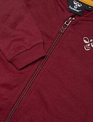 Hummel - hmlBLESS ZIP JACKET - sweatshirts - cabernet - 2