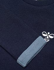 Hummel - hmlWEST CREWNECK - sweatshirts - black iris - 2