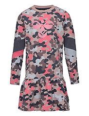 hmlPOLLY DRESS L/S - BARK