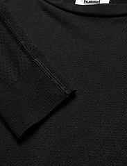 Hummel - hmlCLEA SEAMLESS T-SHIRT L/S - topjes met lange mouwen - black melange - 2