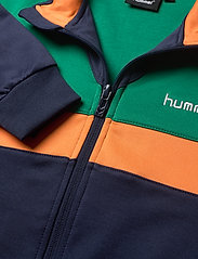 Hummel - hmlKENTARO ZIP JACKET - sweatshirts - ultramarine green - 2
