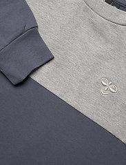 Hummel - hmlTILLY DRESS L/S - kleider - ombre blue - 2