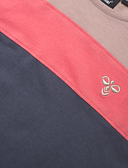 Hummel - hmlANNA DRESS S/S - kleider - ombre blue - 2