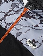 Hummel - hmlNILAR ZIP HOODIE - hoodies - black - 2
