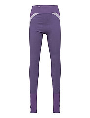 hmlHARPER SEAMLESS TIGHTS - OMBRE BLUE