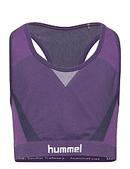 hmlHARPER SEAMLESS SPORTS TOP - OMBRE BLUE