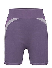 hmlHARPER SEAMLESS TIGHT SHORTS - OMBRE BLUE