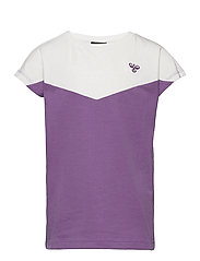 hmlCIETE T-SHIRT S/S - CHINESE VIOLET
