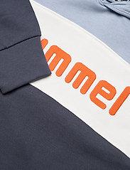 Hummel - hmlMORTEN HOODIE - kapuzenpullover - blue fog - 2