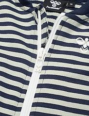 Hummel - hmlVILLUM ZIP JACKET - sweatshirts - black iris - 2