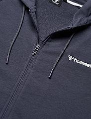 Hummel - hmlISAM ZIP HOODIE - hoodies - blue nights - 4