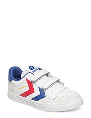 HUMMEL STADIL JR LEATHER LOW - WHITE
