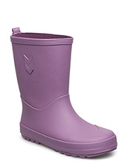RUBBERBOOT - ARGYLE PURPLE