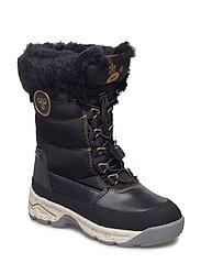 SNOW BOOT JR - BLACK