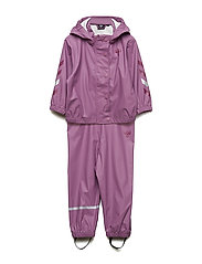 REESE RAINSUIT - ARGYLE PURPLE