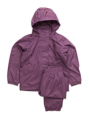 RAVEN RAINSUIT - ARGYLE PURPLE