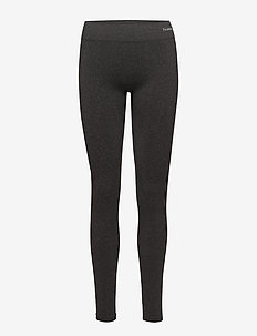 CLASSIC BEE CI SEAMLESS TIGHTS - løbe- og træningstights - black melange