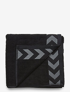 OLD SCHOOL SMALL TOWEL - BLACK