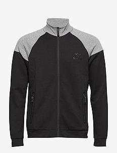 CLASSIC BEE ZION ZIP JACKET - sweatshirts - black
