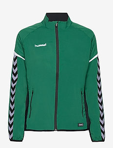 AUTH. CHARGE MICRO ZIPJKT W - training jackets - evergreen