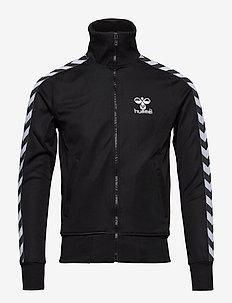 ATLANTIC ZIP JACKET N - track jackets - black/white