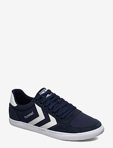 HUMMEL SLIMMER STADIL LOW - DRESS BLUE/WHITE KH