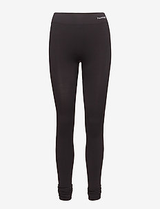 SUE SEAMLESS TIGHTS - BLACK