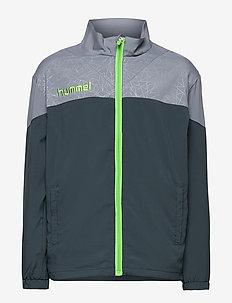 HUMMEL SIRIUS MICRO JACKET - light jackets - dark slate/tradewinds
