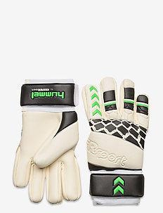 GK GLOVES - football equipment - white/black