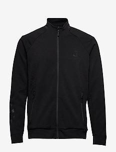 HMLGUY ZIP JACKET - swetry - black