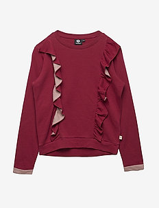 HMLTILLE T-SHIRT L/S - RUMBA RED