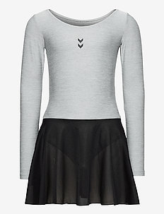 HMLTUTTI GYMNASTIC SUIT - dresses - grey melange