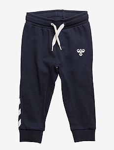 HMLAPPLE PANTS - sweatpants - blue nights