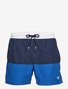 HMLRAMSEY BOARD SHORTS - TRUE BLUE