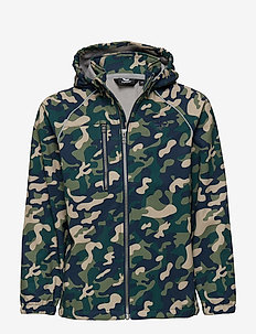 HMLJACKSON JACKET - FOUR LEAF CLOVER