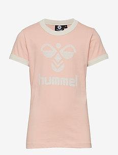 HMLKAMMA T-SHIRT S/S - ROSE CLOUD