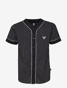 HMLMARCELLUS SHIRT S/S - BLACK