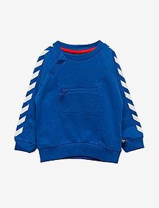 HMLVINNIE SWEATSHIRT - sweatshirts - nebulas blue