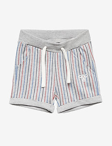 HMLZANE SHORTS - GREY MELANGE