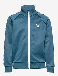 HMLKICK ZIP JACKET - MAJOLICA BLUE