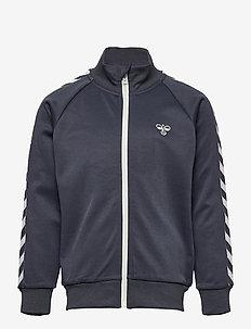 HMLKICK ZIP JACKET - sweat-shirt - ombre blue