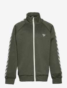 HMLKICK ZIP JACKET - sweatshirts - thyme