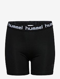 HMLTONA TIGHT SHORTS - shorts - black