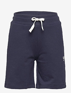 HMLBASSIM SHORTS - shorts - black iris