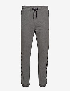 HMLRAY PANTS - trainingsbroek - dark grey melange