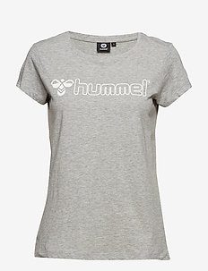 HMLLUCY T-SHIRT S/S - GREY MELANGE