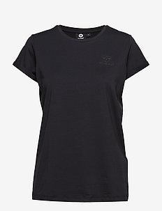 HMLISOBELLA T-SHIRT S/S - logo t-shirts - black