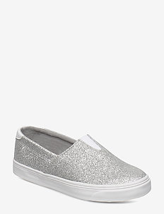 SLIP-ON BALLERINA GLITTER JR - SILVER