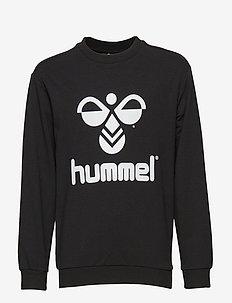 HMLDOS SWEATSHIRT - sweatshirts - black